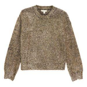 Brand new metallic sweater